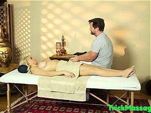 massaged stunner Pussyfucked On Hidden hidden cam
