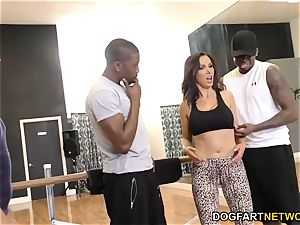 Nikki Benz loves rectal with big black cock - cuckold Sessions