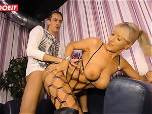 LETSDOEIT - super hot auntie rails nephews spunk-pump On orgy gauze
