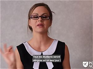 porn ACADEMIE - british Tina Kay sizzling anal in three-way
