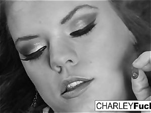Charley and her girlfriend smoke and have a little joy