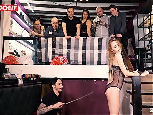 LETSDOEIT - Kira Gets tough torture at bondage & discipline soiree