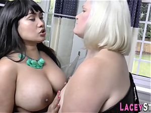 japanese les licks out granny