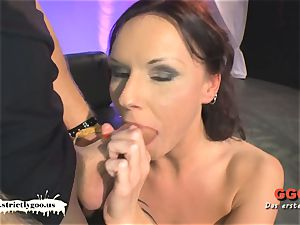 tattooed mummy Angie the French assfuck paramour