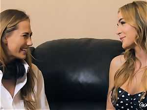 Carter Cruise and Blair Williams love each others super-steamy cooters