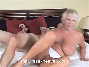 grannie Getting Laid While Her spouse watches