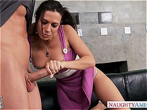 huge-boobed gf Rachel Starr pulverizing