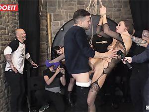 british honey Tina Kay Gets obedient