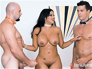 Mary Jean takes those two stiff spears deep