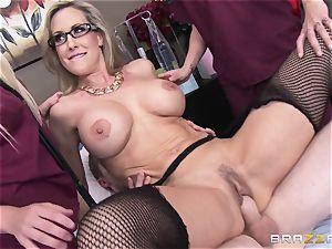Rock hard patient gets torn up by doctor Brandi enjoy