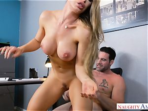 Nicole Aniston romping at work