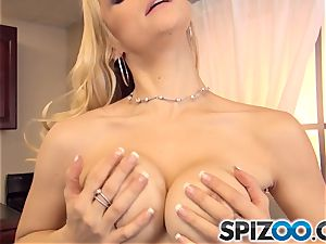 luxurious point of view with Sarah Vandella