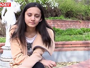 LETSDOEIT - crazy teen enjoys massaging Her pearl to ejaculation