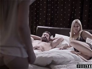 pure TABOO pervert Parents plow timid Foster daughter-in-law