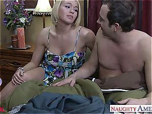 big-chested blonde Krissy Lynn boinking