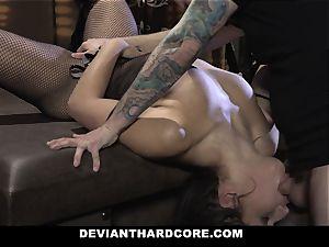DeviantHardcore -slutty nubile bondage plowed By Stranger