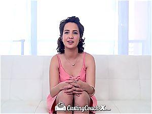 CastingCouch-X - schoolgirl Stephanie Carter first porn
