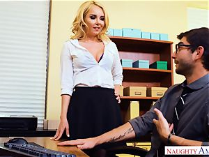 milf Aaliyah love seduced by suspended pc technicians