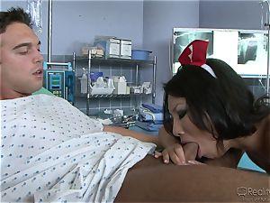 rectal enjoying nurse Asa Akira