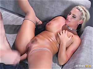 Phoenix Marie gets ravaged in the donk by yam-sized dicked Danny D