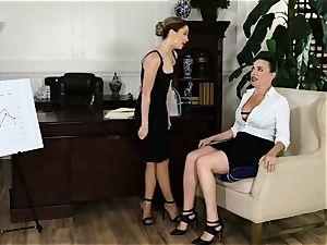 slit profits are thru the roof with Jane Wilde and mummy Dana DeArmond