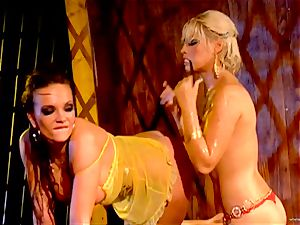 super-fucking-hot Bridgette B torments her fucking partners wet fuckhole