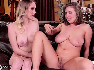 Lena Paul Makes Herself burst chick friend dump More