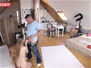 Czech teen hottie Alexis Crystal first-ever pornography Shoot